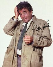 Columbo signed Peter Falk 8X10 photo picture poster autograph RP