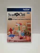 Brother Sewing Scanncut 3D Paper Craft USB CAUSB4