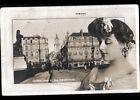 ANGERS (49) ARTISTE de theatre ROBINNE & Comerce BAZAR DU GRAND PONT début 1900