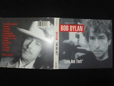 COFFRET 2 CD BOB DYLAN / LOVE AND THEFT / RARE /