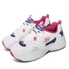 Skechers D lites aireado 2.0 X Sailor Moon Blanco Rosa Azul Mujer Zapato 66666267-wpkb