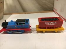 Motorized Muddy Thomas and Coal Depot Car for Thomas and Friends Trackmaster