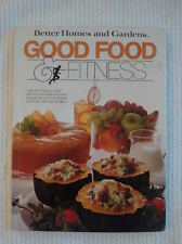 Better Homes and Gardens Good Food and Fitness Cookbook