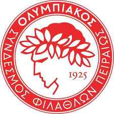 "Olympiacos FC Greece Soccer Football Bumper Sticker Decal 5"" x 5"""