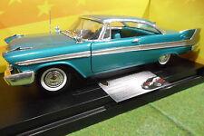 PLYMOUTH BELVEDERE 1958 bleu 1/18 AMERICAN MUSCLE ERTL 36428 voiture miniature