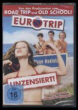 DVD EUROTRIP - EURO TRIP - UNZENSIERT - TOP TEENAGER-KOMÖDIE *** NEU ***