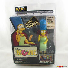 The Simpsons Movie Mayhem Marge figure by McFarlane Toys - worn dent packaging