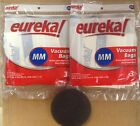 Eureka MM Vacuum Bags (6 Bags) Genuine Part #60295C + Free Filter (Part# 38333)