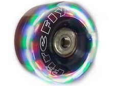 FIREFLY Light Up Roller Skate Wheels by Techno Showtime 58mm, soft 83a ALL 8
