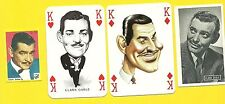 Clark Gable Movie Actor Gone with the Wind Fab Card LOT F It Happened One Night