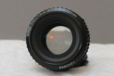 SMC PENTAX-A 50mm f/1.7 FAST PRIME LENS with caps - hardly used