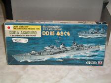 Skywave / Pit Road 1/700 DD115 Asagumo & Hatsushima Class Minesweeper, JMSDF