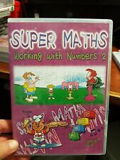 Super Maths Working With Numbers 2  -  PC GAME - FREE POST