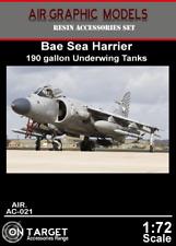 Air Graphics AC-021 Sea Harrier 190 gallon drop tanks - 1/72 Scale resin set
