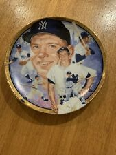 1992 MICKEY MANTLE YANKEES BEST OF BASEBALL HAMILTON COLLECTION LE PLATE