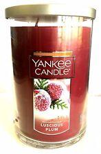 Yankee Candle Large Jar  * LUSCIOUS PLUM  * 150 HOURS