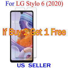 1x Clear LCD Screen Protector Guard Cover Shield Film For LG Stylo 6 (2020)