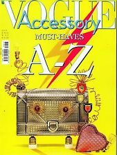 Vogue Accessory 2015 17#Must-Haves A-Z,yyy