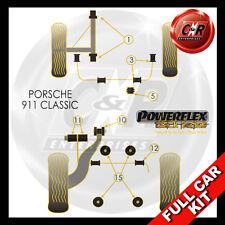 Porsche 911 Classic (77-86) Powerflex Black Complete Bush Kit