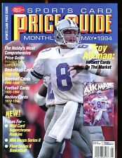 SCD Sports Card Price Guide May 1994 Troy Aikman jhscd