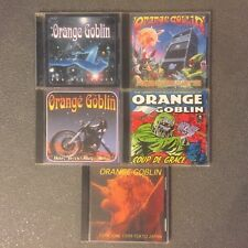 Orange Goblin Lot of (5) Japanese CDs Electric Wizard Goatsnake Uncle Acid