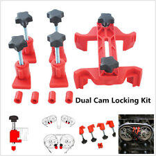 5Pcs/Set Universal Dual Cam Clamp Camshaft Timing Sprocket Gear Locking Tool Kit