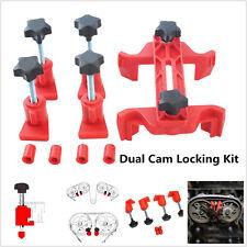 5Pcs/Set Universal Dual Cam Clamp Camshaft Timing Sprocket Gear Locking Tool Kit