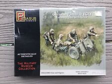 PEGASUS 1/72 WW II GERMAN LE IG18 75 MM INFANTRY GUN W/ CREW MODEL KIT 7510 F/S
