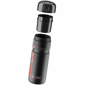 Elite Super Byasi Cycling / Bike Tools Storage Bottle / Container Black - 700ml