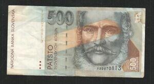 SLOVENIA 500 KORUN 1993