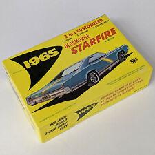 Model Car Kit 1965 OLDSMOBILE STARFIRE CONVERTIBLE 1/32 VINTAGE PALMER PLASTICS