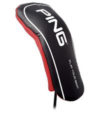 PING Japan Golf Driver 1W Wood Headcover 34539 New 2019 Black Red