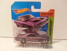"Coche Mattel Hot Wheels BFV57 '67 Chevelle SS 396 1/64 ""HW Workshop"""