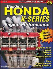 Honda Civic Si Engine Performance Book 2002 2003 2004 2005 2006 2.0 K20A3 Motor
