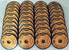"40 PC LOT DEWALT 4-1/2"" x 1/4"" x 7/8"" METAL GRINDING WHEELS DW4541 DW4514"