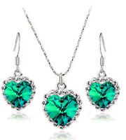 Romantic Selection - Gift for Beautiful Women Earrings Necklace Jewellery Set