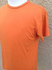 Awesome Men's Polo Sport T-Shirt Medium Orange B88