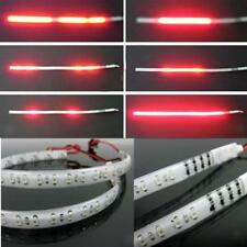 2pcs Rouge 30cm Led Knight Rider stroboscope Scanner Neon Light Strip