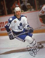 Doug Gilmour Toronto Maple leafs Autographed Signed 8x10 Photo
