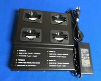 4 Bank Pro Strong metal Charger(UL/CE)For SYMBOL DS3478/LS3578#21-62606-01...eq