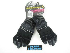 Scorpion EXO Women's Cool Hand II Motorcycle Riding Gloves Black Medium