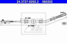 Seilzug, Feststellbremse für Bremsanlage Hinterachse ATE 24.3727-0202.2