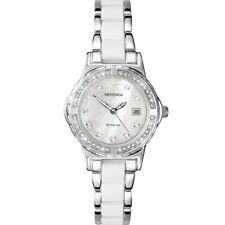 Sekonda Moonlight Pearl Ladies White Insert Bracelet Watch 4674