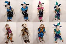 New ListingVintage K's Collection Mardi Gras Dolls lot of 8