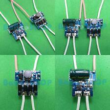 10pcs AC/DC Driver 12V Power Supply 1x1W 3x1W LED 300mA Light Lamp 1W 3W car