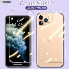 9H HD 2 Screen Protectors iPhone 11 Pro Max XR Case 6S 7 8 Plus X XS Cover Clear