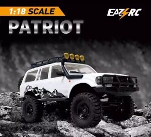 Remote Control RC Car 1:18 2.4Ghz Crawler 4WD Vehicle Climbing Off Road Gift Toy