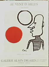 ALEXANDER CALDER -DELUXE NUMBERED EDITION ON ARCHES PAPER-HOMMAGE A MIRO 1981