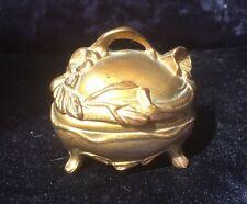 ART Nouveau gilded Metallo Ciondolo Box