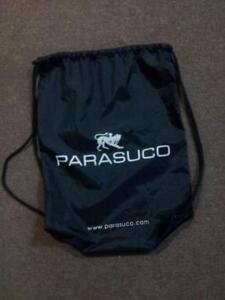 Parasuco Gymsack/Duffle Bag - Drawstring / Black / Quick Dry / SMALL / Designer